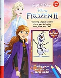 Frozen 2 learn to draw cover art