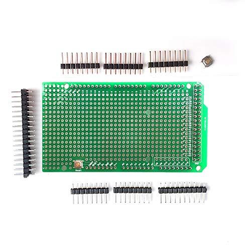 ARCELI Prototipo PCB per scheda scudo Arduino MEGA 2560 R3 DIY