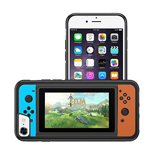 ModifiedCases Zelda N Switch Style Bumper Case Compatible for iPhone 7/8