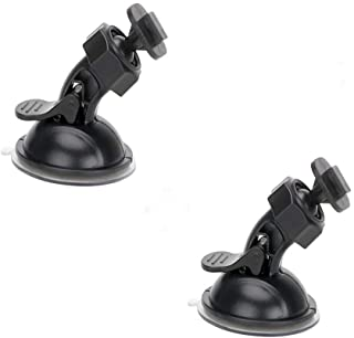 Máy thâu hình đặt trên xe ô tô – Dash Cam Suction Cup Mount for Yi Dash Cam 2.7″ Screen Full Hd 1080p 165 Wide Angle Dashboard Camera, Yi Dashcam Mounts Hold Tightly and Stand Heat Well, 2 Pieces