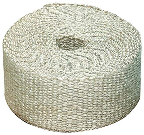 Heatshield Products 325050 Off White Inferno Wrap 2' Wide x 50' Header Insulating Heat Wrap