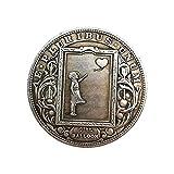 Yuanan Hobo Coin Love Girl Ballón Morgan Moneda Conmemorativa...