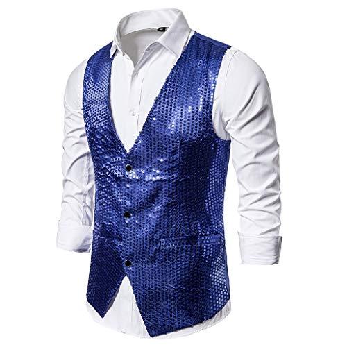 GNYD Camicia da Uomo Elegante A Maniche Lunghe in Cardigan con Giacca A Doppio Petto in Maglia Casual Taglie Forti Invernale Caldo Cappotti Vintage Outwear