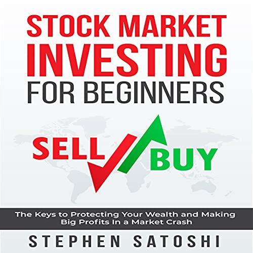 Diseño de la portada del título Stock Market Investing for Beginners