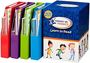 Hooked on Phonics Complete Learn to Read Kit (Pre-K through 2nd Grade | Ages 3-8)