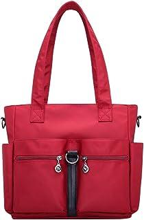 Wultia - Bags for Women Fashion Casual Nylon Single Shoulder Crossbody Bag Totes Waterproof Bags Handbags Bolsa Feminina *0.92 RED