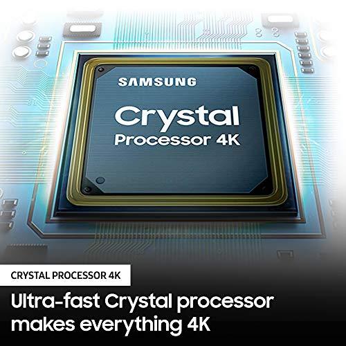 SAMSUNG 43-inch Class Crystal UHD TU-8000 Series – 4K UHD HDR Smart TV with Alexa Built-in (UN43TU8000FXZA, 2020 Model)