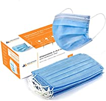Arcatron Mobilty®️ 3 Ply Disposable Surgical Face Mask with Meltblown Protective layer | ASTM F 2101, SITRA, CE and ISO...