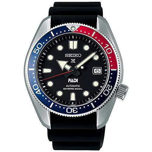 SEIKO Herren Analog Automatik Uhr mit Silikon Armband SPB087J1