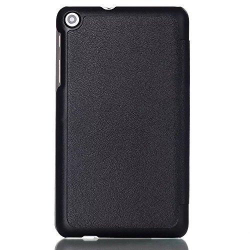 Kepuch Custer Huawei Mediapad T1 7.0 / T2 7.0 Hülle - Shell Schutzhülle PU Tasche Smart Case Cover für Huawei Mediapad T1 7.0 / T2 7.0 - Schwarz - 4