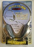 オーム電機 オープンエア型ステレオヘッドホン CD-500TK