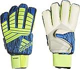 adidas Predator Ultimate - Guantes de Portero, Todo el año, Unisex Adulto, Color Solar Yellow/Black/Football Blue, tamaño 10