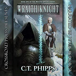 Wraith Knight audiobook cover art
