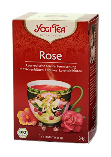 YogiTee Yogi Tea Tao Rose Bio (1 x 17.00 Btl)
