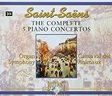 Songtexte von Camille Saint‐Saëns - The Complete 5 Piano Concertos / Organ Symphony / Carnaval des Animaux