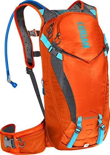 CamelBak K.U.D.U. Protector 10 100 oz, rojo naranja/carbón, S/M