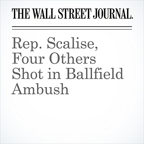 Rep. Scalise, Four Others Shot in Ballfield Ambush copertina