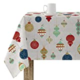 BELUM   Mantel Navidad   Mantel Antimanchas Mesa Rectangular Resinado   Mantel resinado (Tacto plastificado)   Mantel Mesa   Mantel Mesa hogar (250X140 cm)