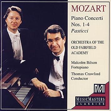Mozart: Piano Concerti 1-4 Pasticci