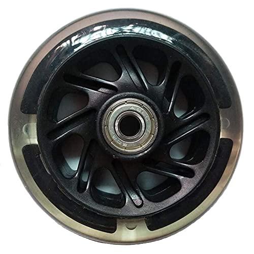 HJXX 2 ruedas de patines en línea para ruedas de ruedas, ruedas de equipaje, carritos de equilibrio, carros, bastidores de escenario, estantes, material antideslizante, carros