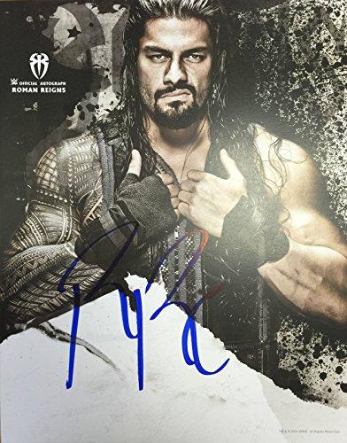 WWE, von Roman Reigns signiertes Foto