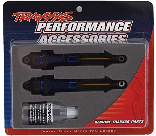 Traxxas TRA7462 Shocks, GTR xx-Long Blue-Anodized, PTFE-Coated Bodies with TiN shafts (2)