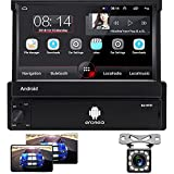 Hodozzy Android Autoradio 1 Din 7'' capacitivo flip out Touch...