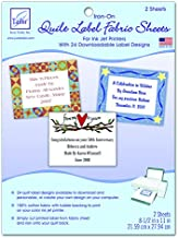 June Tailor Quilt Label Fusible Fabric Sheets