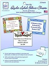 quilt label template