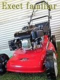 芝刈り機 自走式 Exect familia ミディアムサイズ クラス最強 6馬力 4ストローク OHV 173cc 90日保証 PL保険加入
