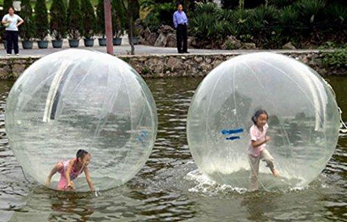 Walk On Water Ball zum Laufen auf dem Wasser, 2 m, CE-geprüft, aufblasbar, mit TIZIP-Reißverschluss