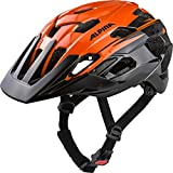 ALPINA ANZANA Fahrradhelm, Unisex– Erwachsene, orange-black, 52-57