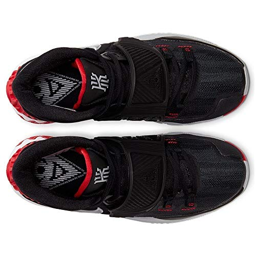 Nike Kyrie 6 (GS) [BQ5599-002] Kids Basketball Shoes Black/Red-White/US 5.5Y