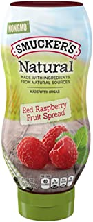 Smucker's Natural Squeeze Fruit Spread, Red Raspberry, 19 Ounce (Pack of 12)