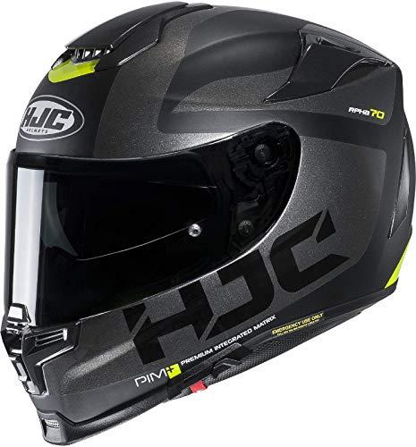 Motorradhelm HJC RPHA 70 BALIUS NC5SF, Schwarz/Grau, XL