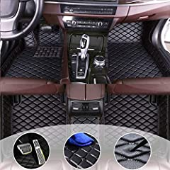 Fit for BMW1 Series Sedan Coupe 2012-2018 Package include: Driving position floor mat+Co-pilot location floor mat+Second row passenger location floor mat. If you didn't find your model in our store,send us pictures and detail information of your car,...