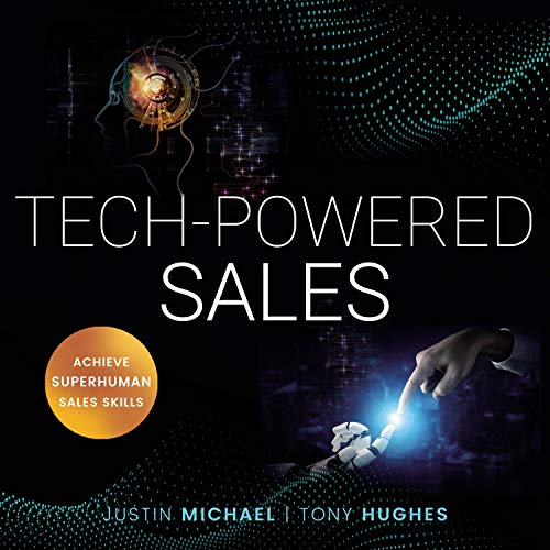Tech-Powered Sales  By  cover art
