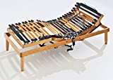 Baldiflex Somier ergonómico ortopédico línea Top motorizado de madera - 110 x 190 cm