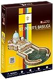 Cubicfun - C718h - Basílica de San Pedro, Puzzle 3D de 56 piezas