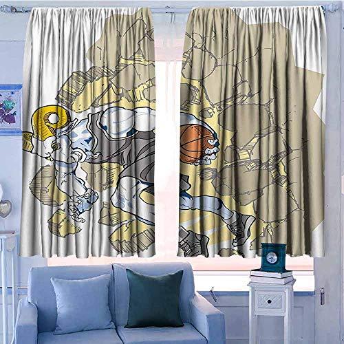 Lovii verduisterende gordijnen 2 panelen staaf Pocket gordijn panelen voor slaapkamer & keuken Animal Decor Moeder Polar Beer knuffelen haar baby in de sneeuw Noord Winter liefde Valentines kunst blauw wit