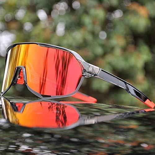 Gafas De Sol Gafas De Ciclismo De Bicicleta De Montaña Gafas De Ciclismo para Deportes Al Aire Libre Uv400 Gafas De Sol De Ciclismo para Hombres Gafas Unisex Sc5