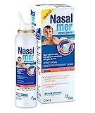 Nasalmer Bebes - Spray Contra la Congestión Nasal - Spray de Higiene y limpieza Nasal - Bebes a partir de 15 días - 100% Agua de Mar. Descongestión y Limpieza Nasal - Solución Hipertónica - 125 ml