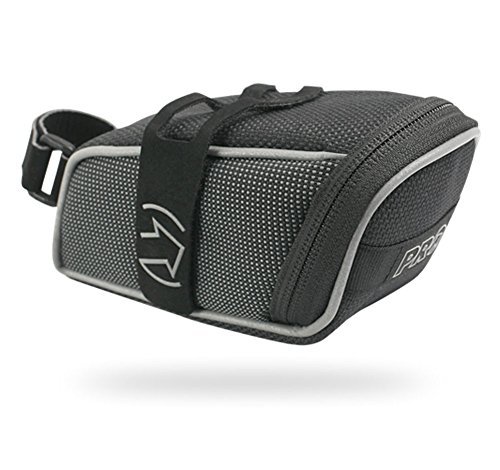 PRO Medi Strap Bicycle Saddle Bag (Black)