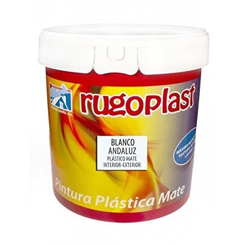Pintura Plástica Mate Interior/Exterior Blanco Andaluz (EL MÁS BLANCO DEL MERCADO) para decorar tu casa (salón, habitaciones, cocina, dormitorios .) (23Kg) Envío GRATIS 24 h.