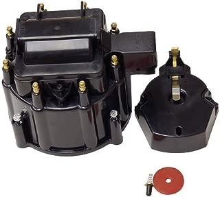 HEI Distributor Black Cap For SBC BBC Chevy HEI V8 50K 65K Distributor