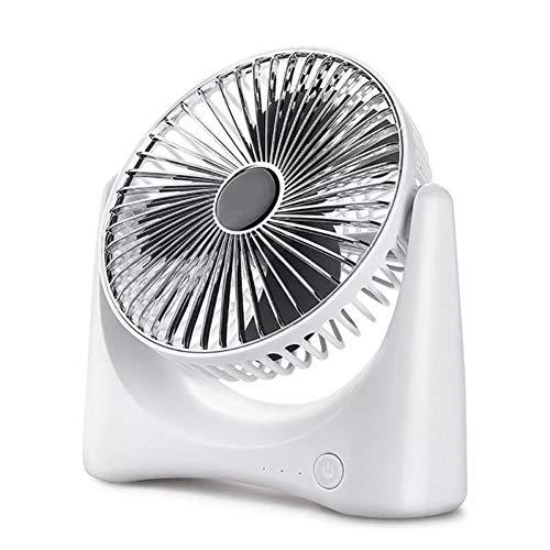 USB Desk Fan, 3 Snelheden Sterke Wind Portable Quiet Fan, USB Kleine Ventilator Mini Bed Desktop Silent Fan, Compatible Binnenlandse Zaken