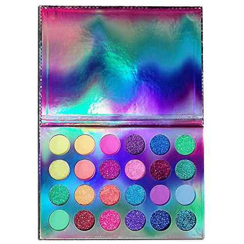Navplus Bulidschatten Palette, Neon UV Blacklight Makeup Eyeshadow Palettes,Leuchtender...