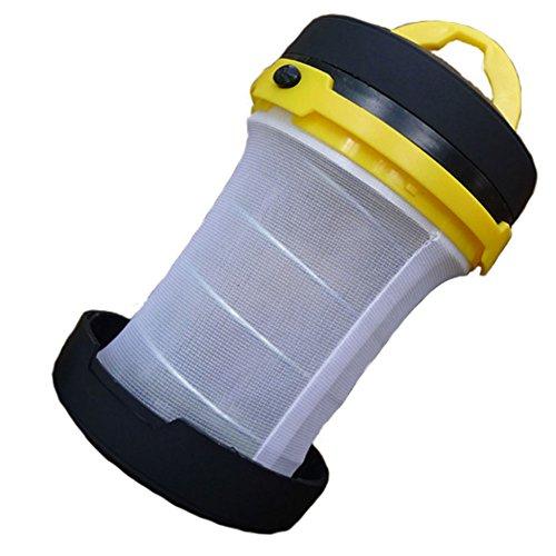 Lumineux Portable multifonction LED Lanterne de camping Jaune