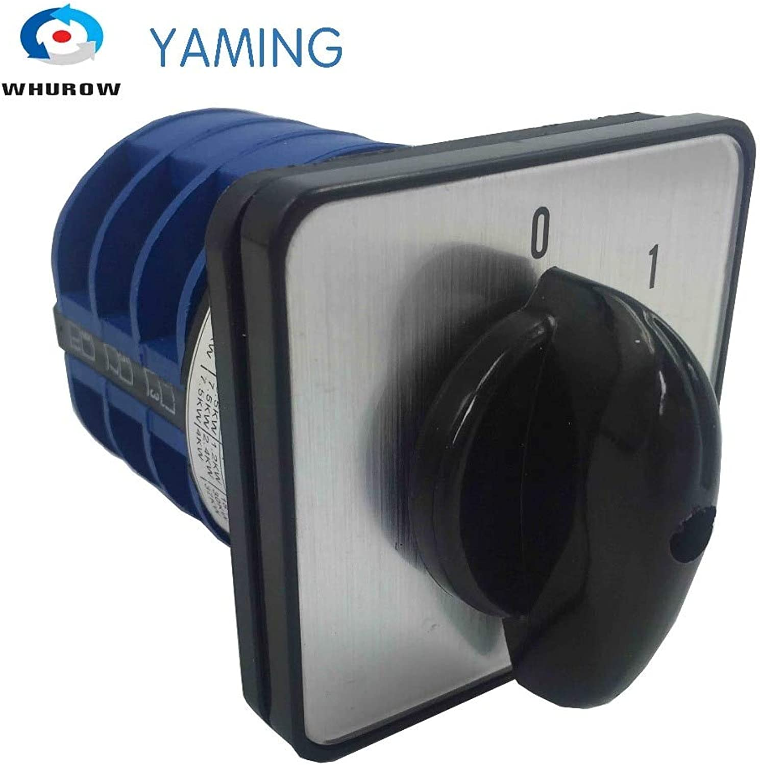 Yaming Electric LW2632 3 Universal Changeover redary cam Switch 660V 32A 3 Poles 2 Position 01 onOff Control Motor