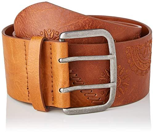Desigual Belt_Parker Cinturón, marrón, 95 cm para Mujer
